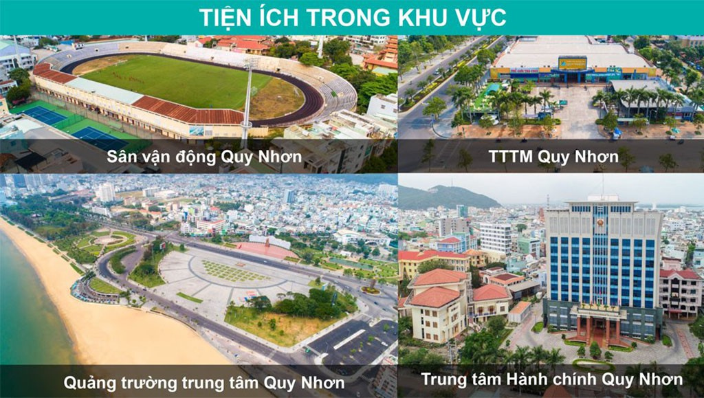 Tiện ích khu vực xung quanh Hải Giang Hưng Thịnh