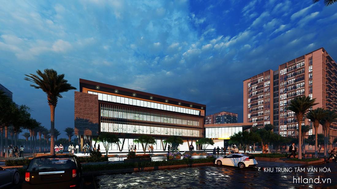 Khu trung tâm văn hóa The New City Châu Đốc