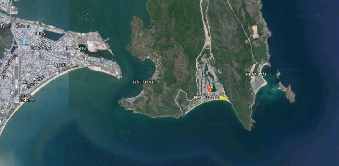 vị trí Hải Giang Merry Land