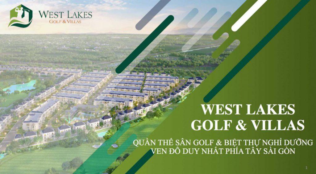Thông tin dự án West Lakes