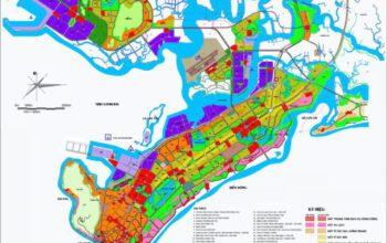 Bản đồ quy hoạch thành phố Vũng Tàu 2021
