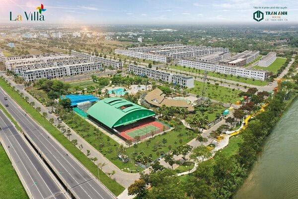 Khu đô thị La Villa Green City sở hữu mặt tiền đường giao thương thuận tiện