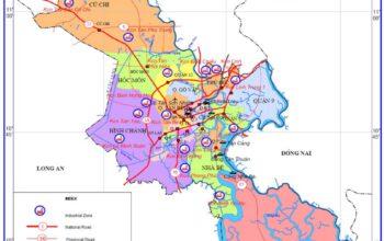 Bản đồ chi tiết Tp. HCM