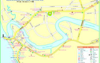 Bản Đồ quy hoạch Phú Quốc tại Thị trấn Dương Đông