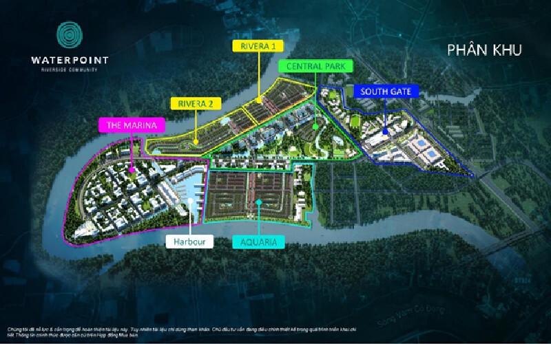 Bản đồ phân lô Waterpoint
