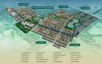 Bản đồ phân lô mới nhất Phúc An City Đức Hòa Long An