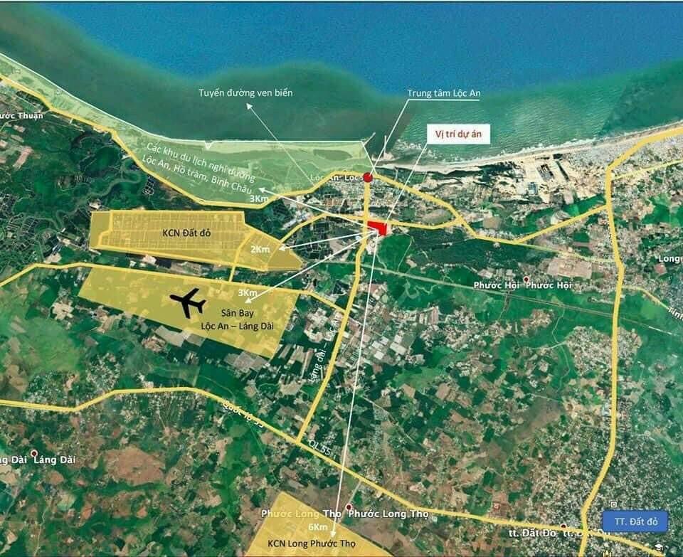 Hạ tầng xung quanh dự án KDC Phước Hội Hồ Tràm