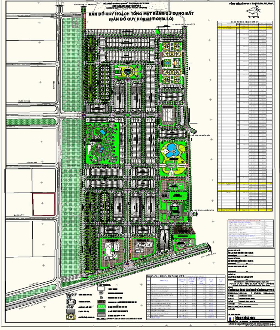 Quy hoạch Khu công nghiệp Nam Tân Uyên