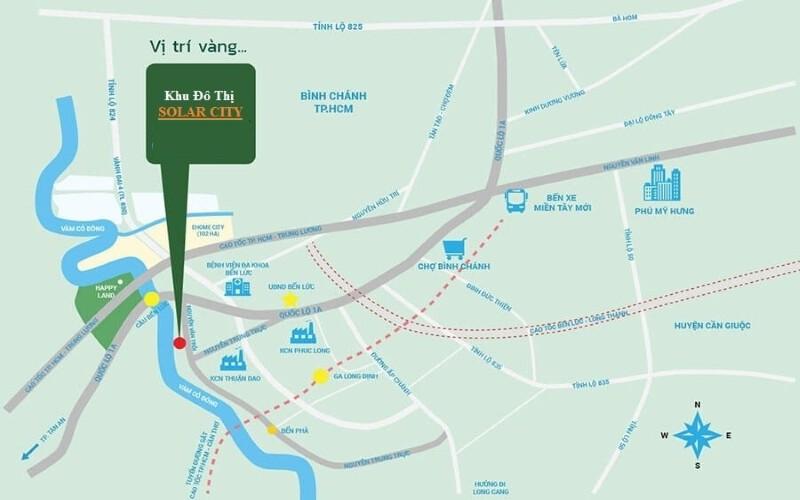 Vị trí Solar City Trần Anh
