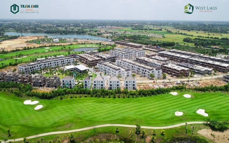 Tiến độ dự án West Lakes Golf &Villas