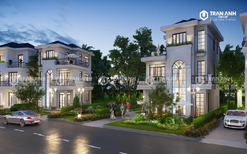 Thiết kế nội thất West Lakes Golf & Villas