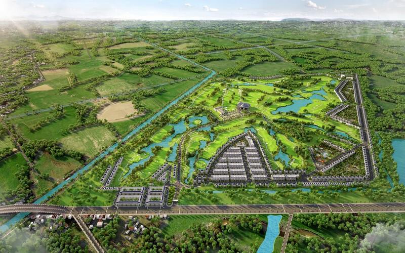 Tổng quan dự án West Lakes Golf & Villas