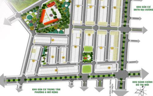 Mặt bằng phân lô dự án La Villa Green City