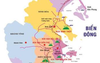 quy hoạch giao thông tỉnh Khánh Hòa 2021
