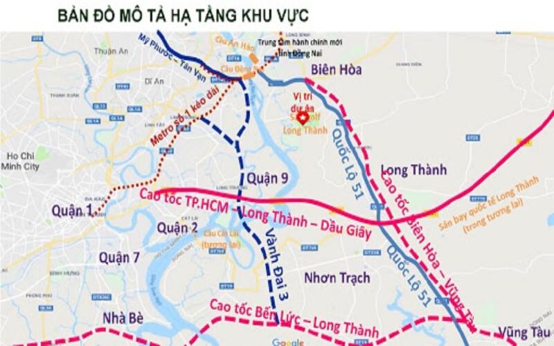Công trình 4km đầu của Cao tốc TPHCM - Long Thành