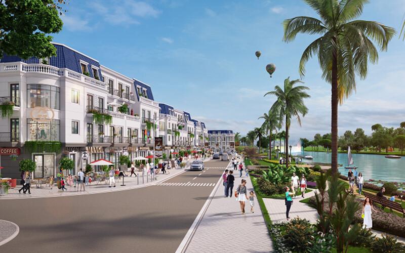 Hạ tầng dự án Lavilla Green City