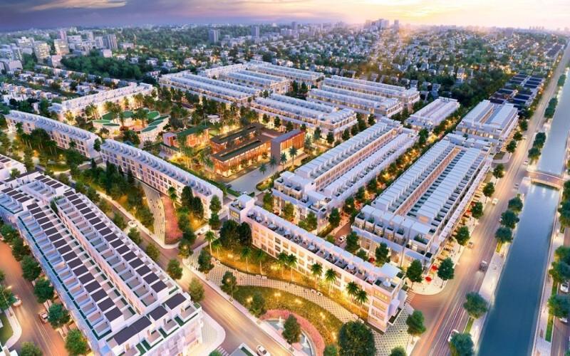 Tiến độ dự án Lavilla Green City Tân An mới nhất tháng 10.2021