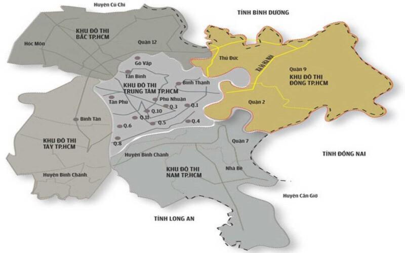 Quy hoạch Thành phố Thủ Đức 2021