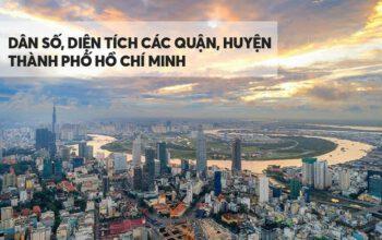 Thành phố Hồ Chí Minh có bao nhiêu Quận Huyện