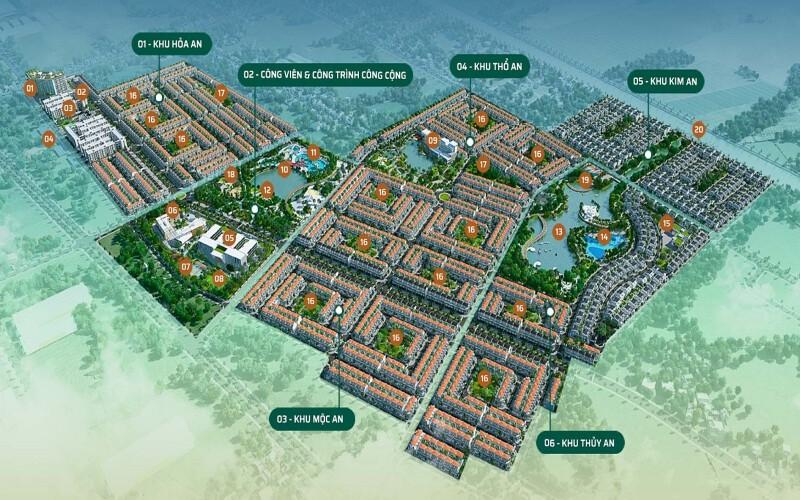Mặt bằng Dự án Phúc An City