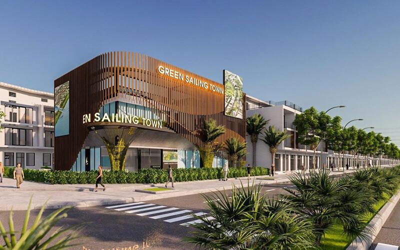Hình ảnh dự án Green Sailing Town
