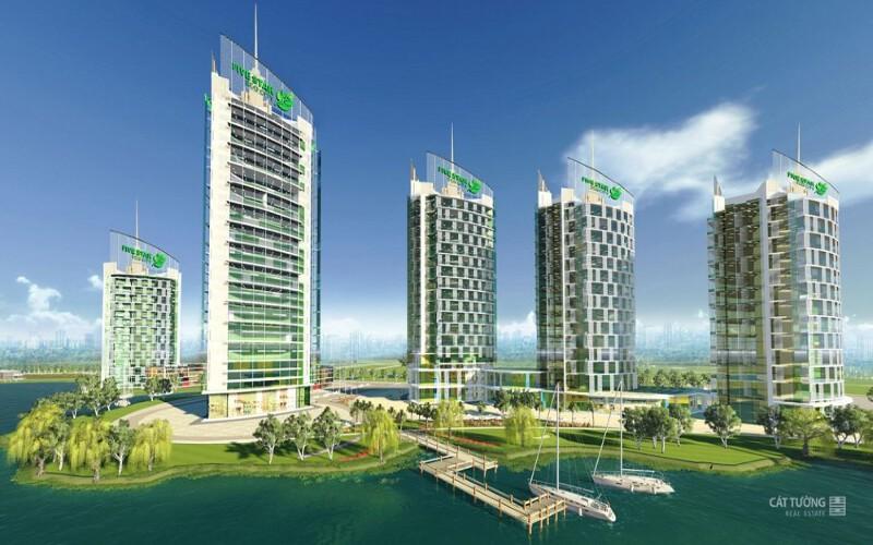 Khu căn hộ cao cấp Five Star Eco City