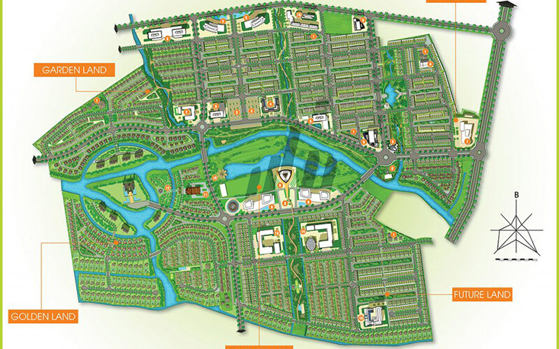 Mặt bằng dự án Five Star Eco City
