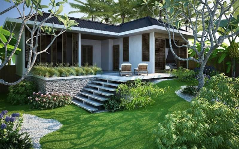 Biệt thự nhà vườn tại Tân An Hội, Củ Chi diện tích 1206m2